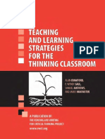 27639666 Teaching Learning Strategies for the Thinking Classroom