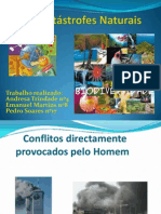 Catástrofes Naturais - Grupo 2