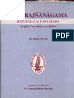 Chandra Jnana Agama - Translation by Rama Ghose Ed. by Vraj Vallabha Dwivedi