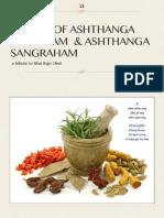 Sutras of Ashthanga Hrydayam &Amp; Ashthanga Sangraha