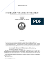 Standards for Music Instruction