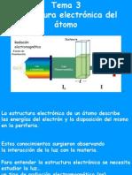Tema 3 Estructura Electronica Del Atomo