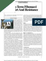 Fibonacci Supports - Resistances