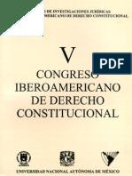 V Congreso Iberoamericano de Derecho Constitucional - UNAM 1998 (IIJ - IiDC)