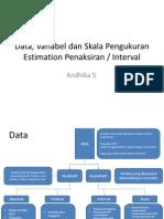 Pertemuan 1 Dan 2 - Data, Variabel Dan Skala Pengukuran