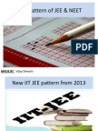 New Pattern of Iit and Neet