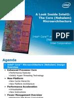 Intel Nehalem Core Architecture