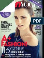 Teen Vogue Us 2013 08 Aug