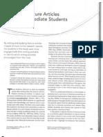 Writing Feature Articles Intermediate