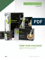 Vi Crunch Fact Sheet | ViSaluis Shakes