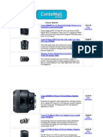 Camera Opticals