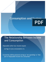 Consumption and Savings