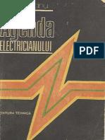 Agenda electricianului (1986) Editia IV de E. Pietrareanu