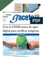 Gaceta UNAM - 17 Junio 2013