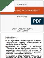 Engineering Management(Planning)