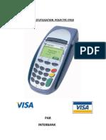 Manuel d'Utilisation de Tpe Visa Gprs