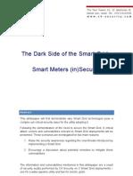The Dark Side of the Smart Grid - Smart Meters (in)Security