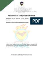 RECONVENÇÃO EM AÇÃO DE ALIMENTOS José Antonio de Souza.docx