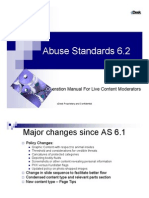 Abuse Standards 6 2 Operation Manual