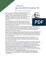 Why the Zionists Jews Demonize Islam?