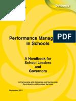 Performance Management Handbook