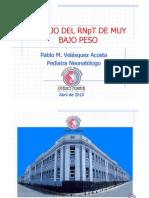 Manejo Del Prematuro