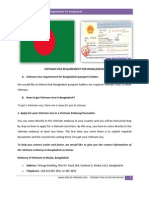 Vietnam Visa Requirement for Bangladeshi