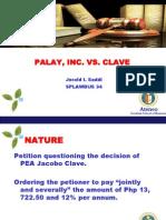 Palay, Inc. vs. Clave (LAWBUS)