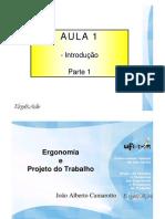 Ergonomia - Aaula1 Parte1