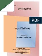 Cover Osteomyelitis