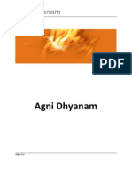Agni Dhyana With Chakras
