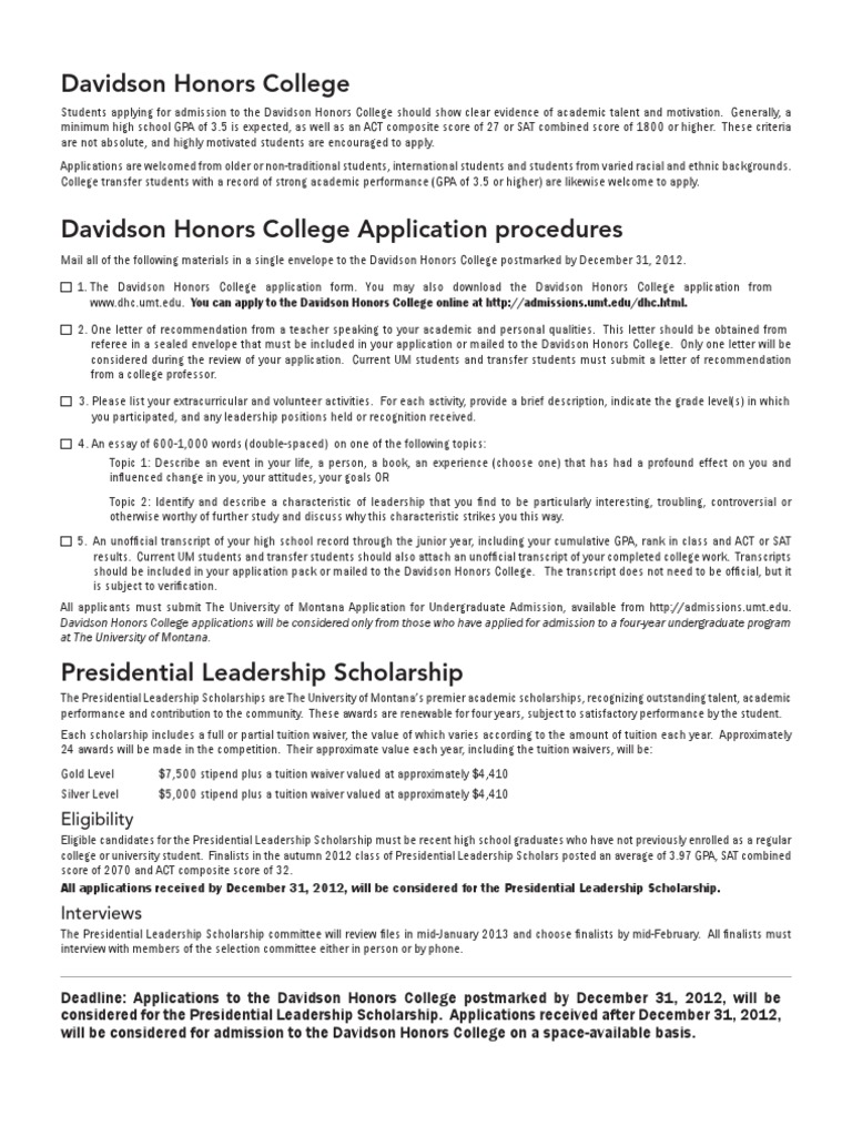 presidential leadership essay The presidential leadership scholars the program creates a rare opportunity to instill in our scholars a brand of principled leadership that transcends diverse.