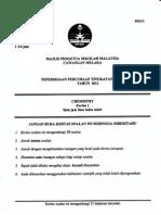 Spm Trial 2012 Chemistry Qa Melaka