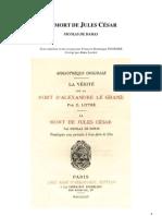 La Mort de Jules César, Nicolas de Damas