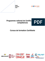 Certification Des Competences JAVA