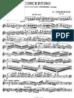 Chaminade - Concertino, Flute Solo