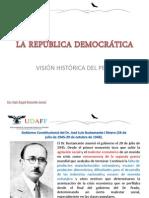 LA REPÚBLICA DEMOCRÁTICA