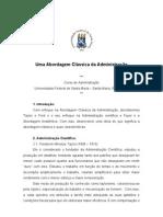 Abordagem classica da administração(paper)