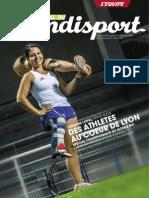 Journal du Handisport - Supplément L'équipe - Orianne Lopez Interview et portrait