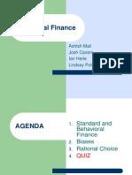 Behavioral Finance - Group 5