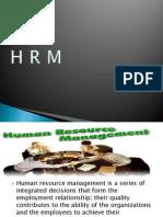 1 HRM introdution