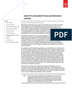 Acrobat x Creating Accessible PDF Forms