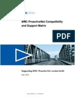 BPPM Compatibility Matrix