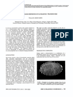 Role of Piezocomposites Ultrasonic Transducers