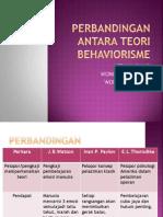 4. Perbandingan Antara Teori Behaviorisme