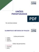 1- Uniões Parafusadas - ELEM MAQ II 2013