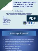 Tatalaksana Aritmia Perioperatif