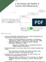 Esquema de Banco de Dados e Mapeamento OO-Relacional