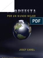 Carel Josef-Propuesta Por Un Mundo Mejor