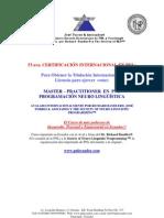 Master Practitioner en PNL Gye Abril 2013